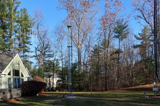 Three Tower Antenna Farm