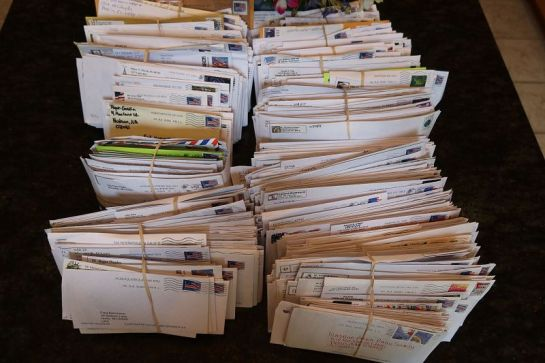 A Portion of the 2020 K2K QSL Requests Received