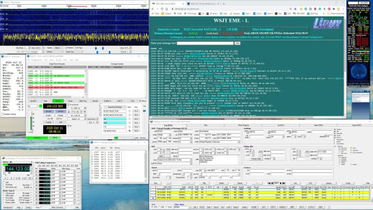 Finding QSOs and Logging
