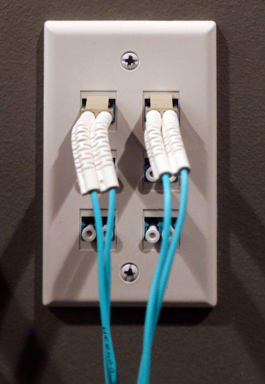 Fiber Wall Outlet