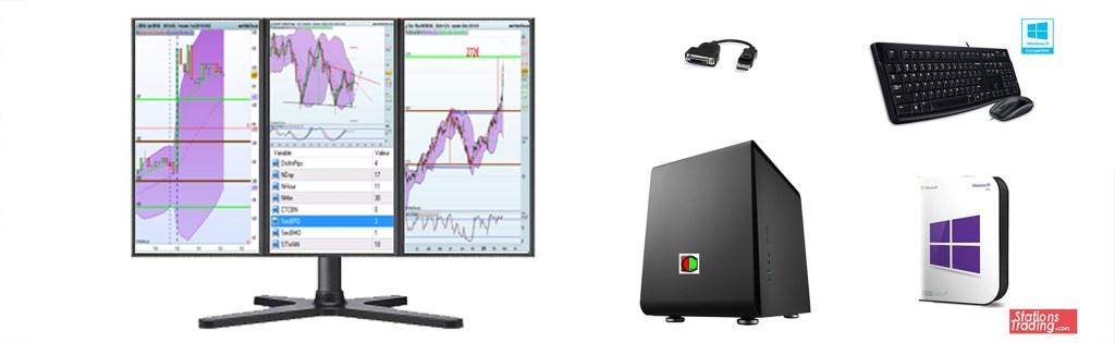 station trading 3 écrans
