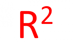 Image of a large R-squared.