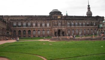 Dresdner Zwinger, Innenhof