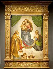 Raffaels Sixtinische Madonna, Dresden