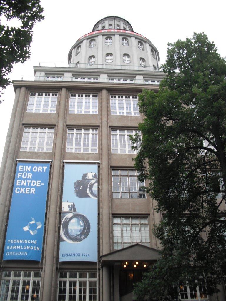 Technische Sammlungen Dresden, Außenansicht
