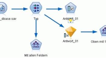 IBM SPSS Modeler: Merkmalsauswahl