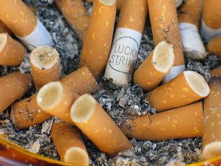 Zigarettenkonsum in Deutschland rückläufig