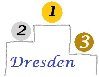 Dresden Rangliste Podium