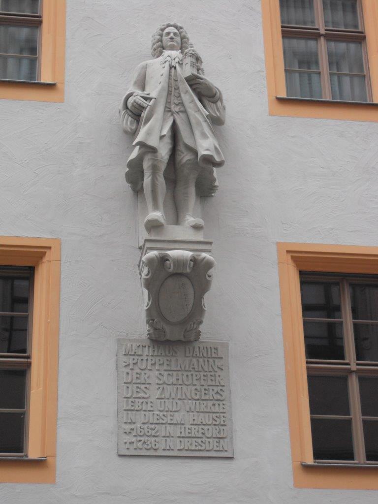 Berühmte Dresdner: Matthäus Daniel Pöppelmann