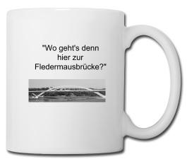 Fledermaus, Brücke, Waldschlösschenbrücke, Dresden