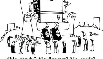 KDnuggets Muttertags-Cartoon