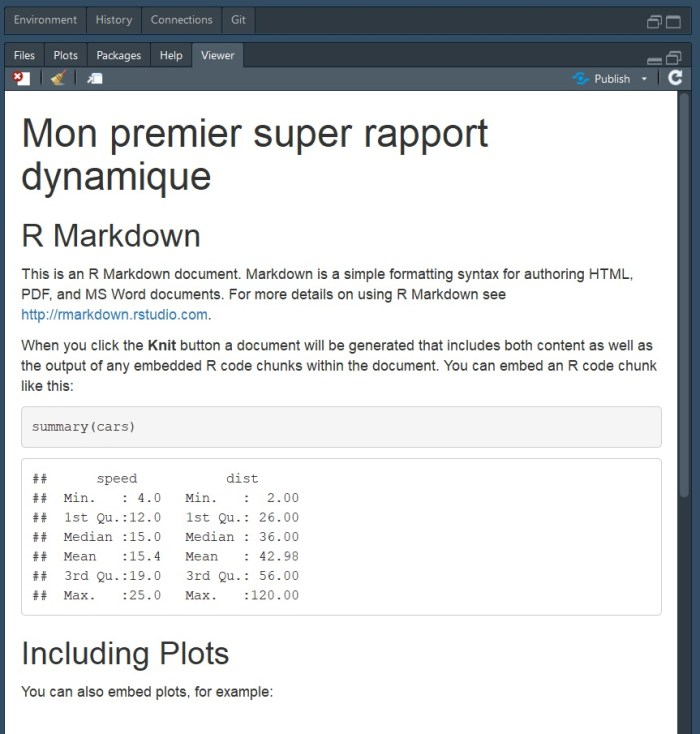 R markdown