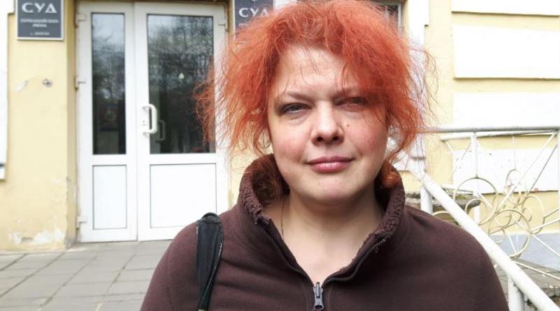 Представитель «Народной Грамады» Ольга Николайчик