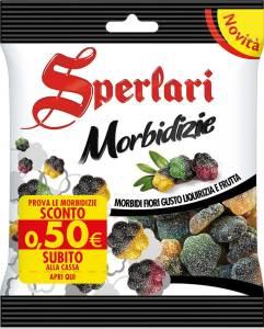 Sperlari Morbidizie: Caramelle gommose. Morbidizie Sperlari
