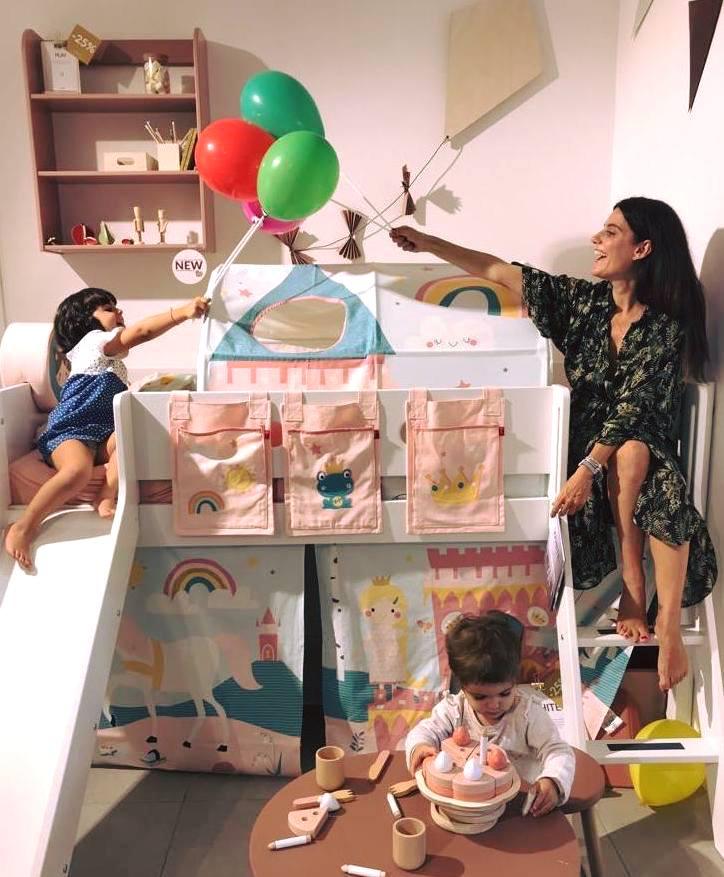 Letto A Castello Principesse.Flexa Camerette Per Bambini Letti A Castello Giochi In Legno E