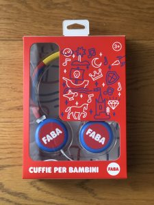 FABA-CANTASTORIE-CUFFIE PER BAMBINI