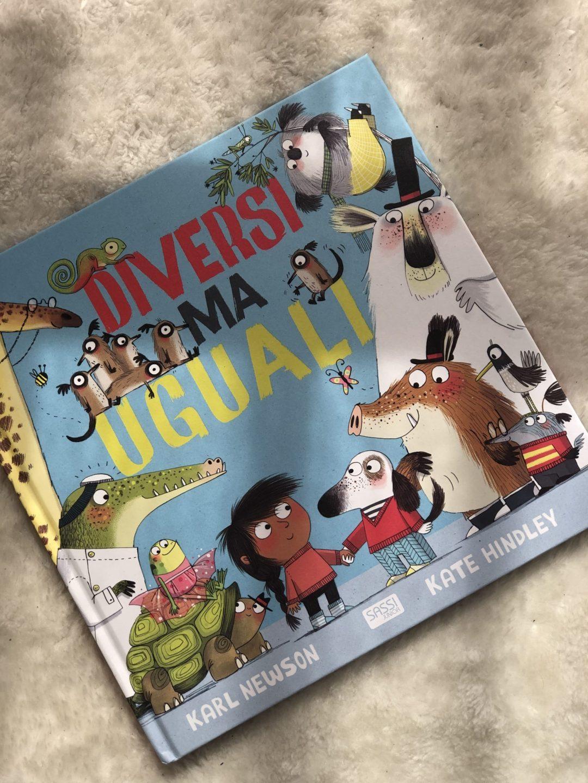 libro per bambini sulla diversità : Diversi ma Uguali