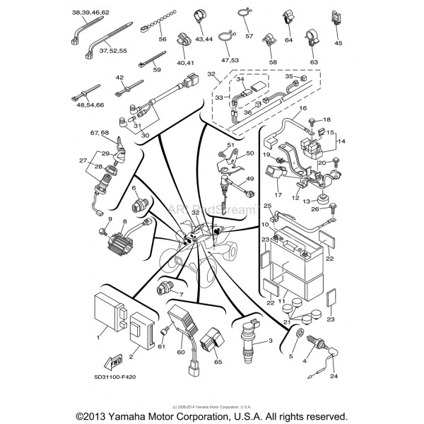 Yamaha Cdi Box Wiring Diagram. Yamaha. Auto Fuse Box Diagram