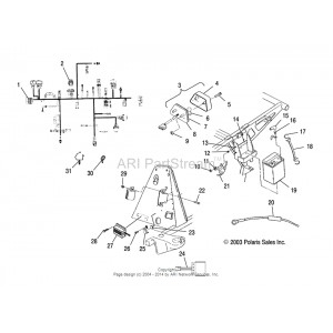 Polaris Sportsman 450 Wiring Diagram. Engine. Wiring