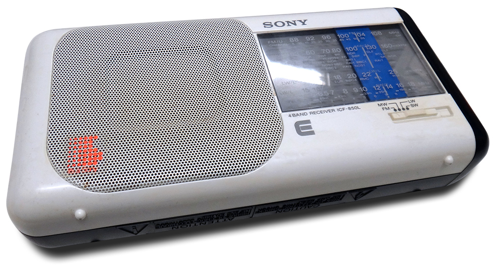 Sony 4-Band Receiver ICF-850 L
