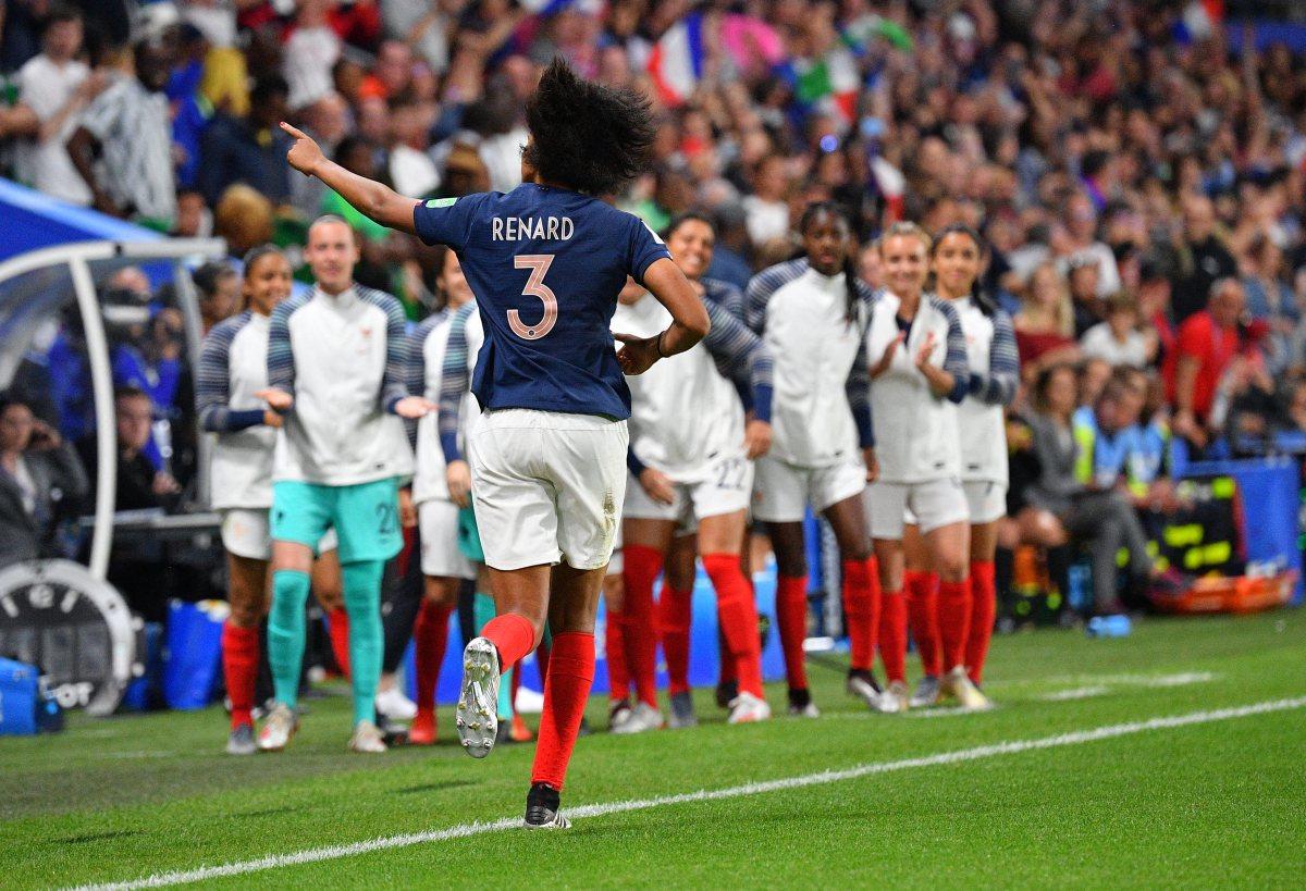 France centre-back Wendie Renard