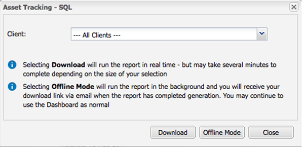 async-report