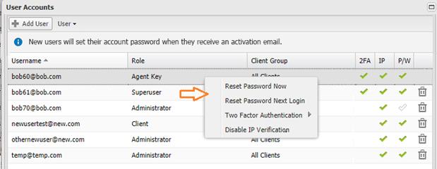password update 2