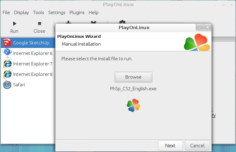 Install Photoshop CS2 easily on Ubuntu Linux – Status 301