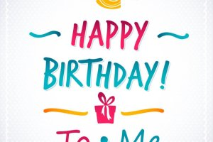 Birthday To Me Images dp