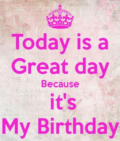 happy birthday to me dp