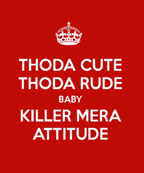 Attitude Whatsapp Profile Pics