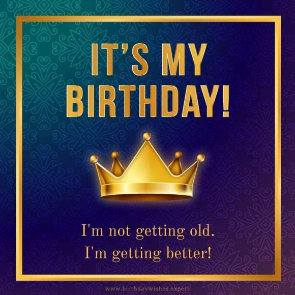 Happy birth day to me