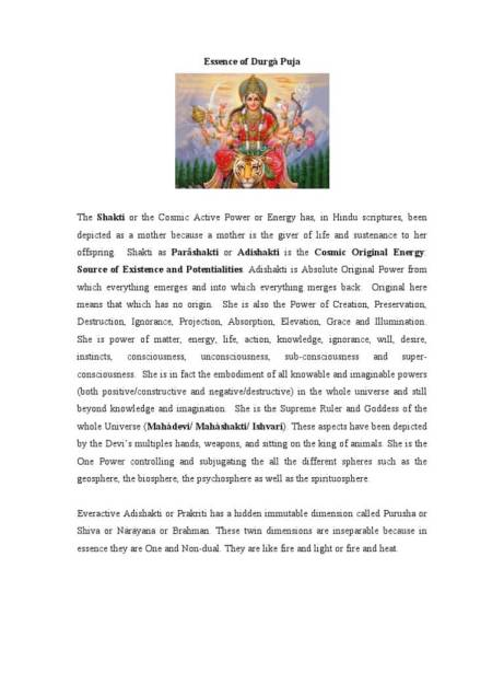 Maha Durga Saptami Short Speech in Hindi