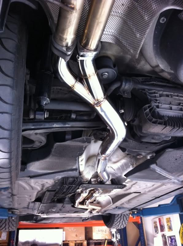 bmw e46 m3 section 2 x pipe