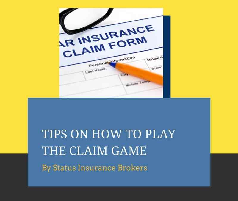 Tips on how to play the claim game