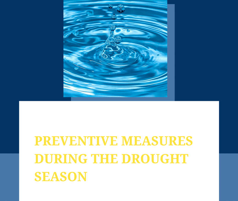 Preventive measures during the drought season in Cape Town