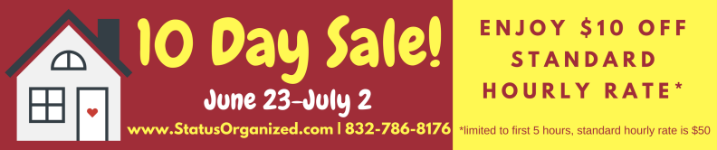 10 Day Sale!
