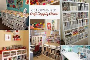 Organizing Craft Rooms