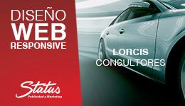 Diseño web Lorcis consultores