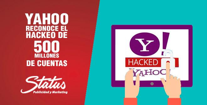 Hackeo cuentas Yahoo