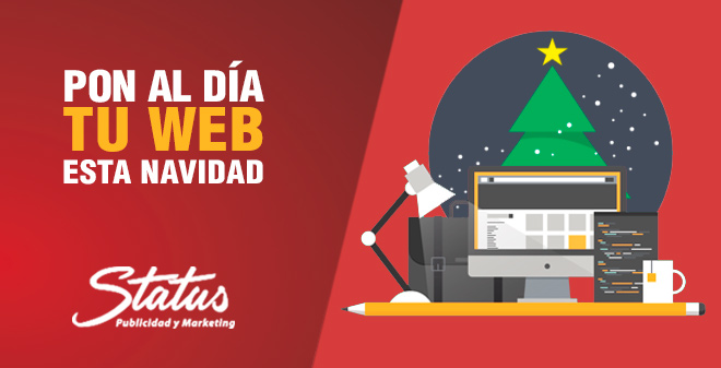 Diseño web Navidad