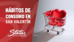 Hábitos de consumo en San Valentín