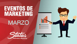 Eventos marketing marzo