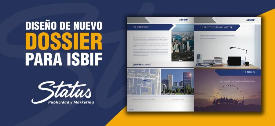 Diseño dossier ISBIF