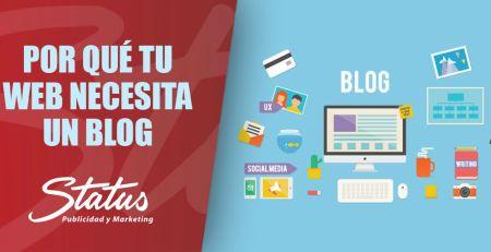 Por qué tu web necesita un blog