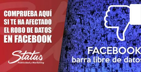 Robo de datos en facebook