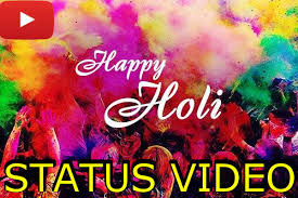 Holi Song Wishes Status Video download