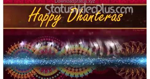 Happy Dhanteras WhatsApp Status Video