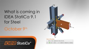 What is coming in IDEA StatiCa 9.1 for Steel @ Online