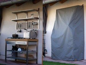 Outdoorküchen schützen